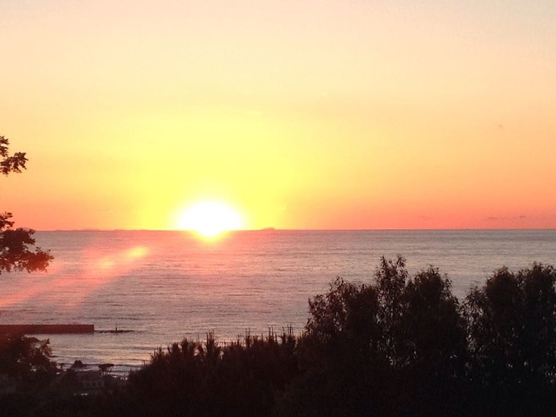 One of the spectacular sunsets and much more ....