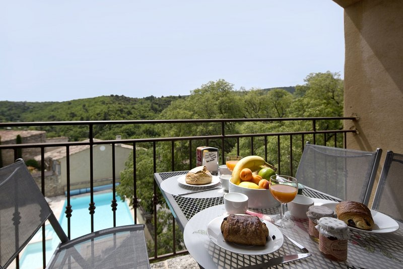 Breakfast with a view! From your private balcony....