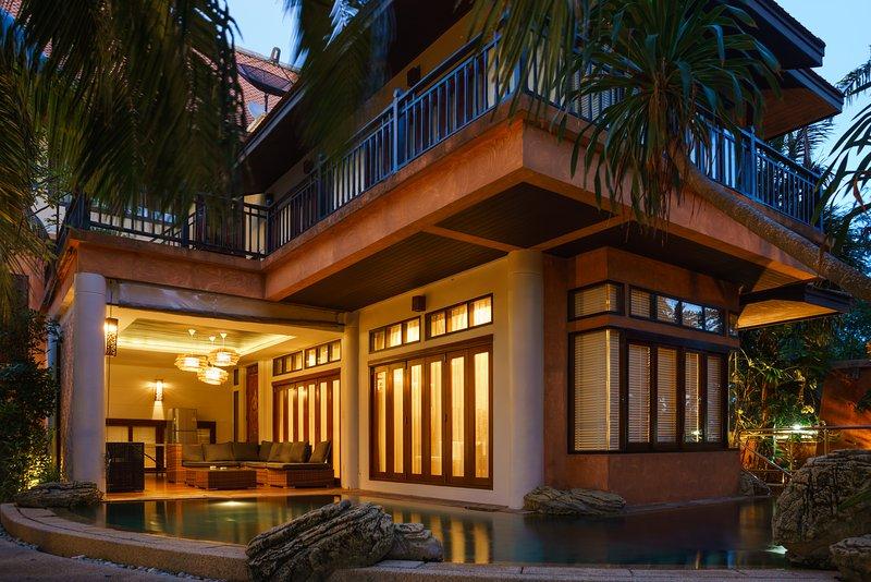exclusive private pool villa