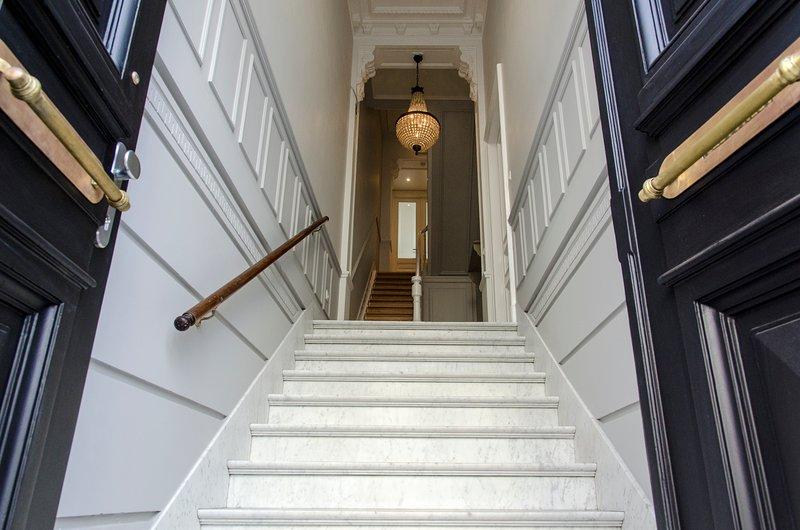 Eingang von Maison Marguerite Ferienhaus Brüssel