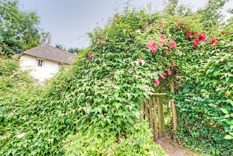 Entrance into Yew Tree Cottage