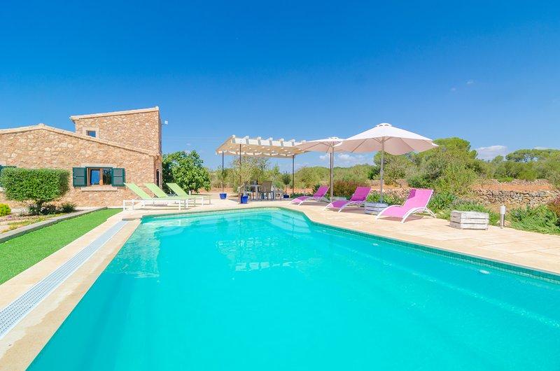CAN XESQUET (PLETA MORELL) - Villa for 6 people in Ses Salines, casa vacanza a Ses Salines