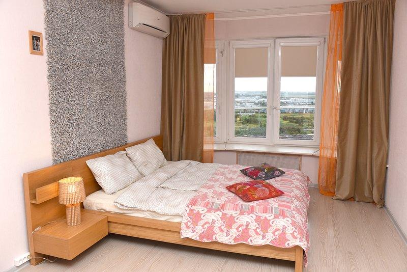 70m2 apartment with 2 bedrooms, casa vacanza a Pushkin