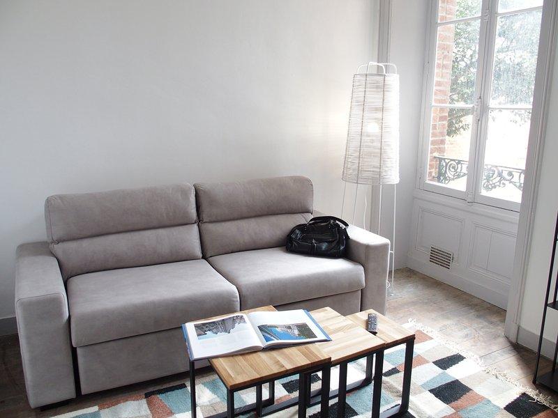 2 pièces Hyper-centre St Anne, calme et lumineux, holiday rental in Saint-Sulpice-la-Foret