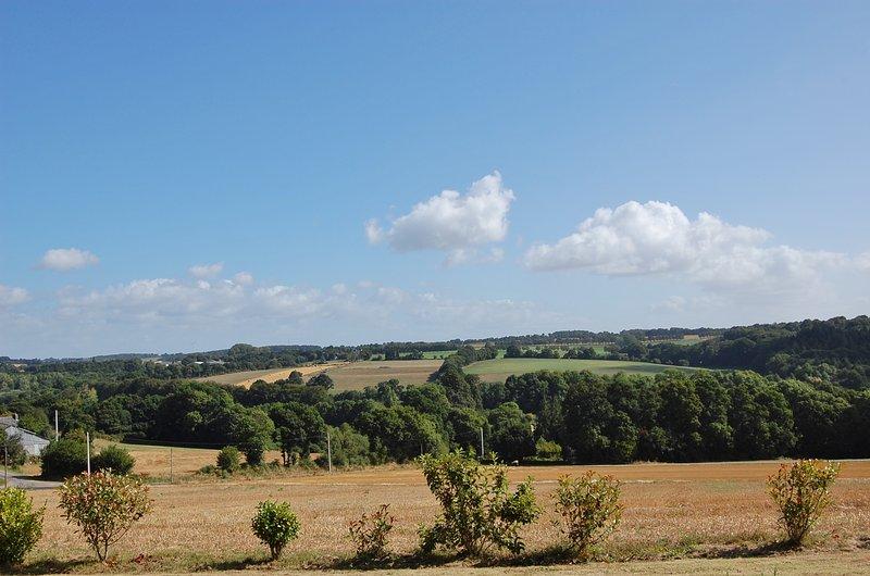 Impresionantes vistas desde la casa rural.