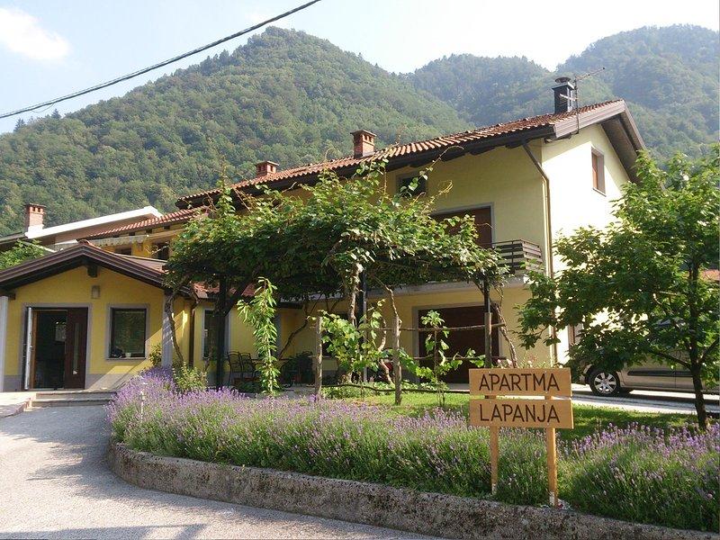 Apartma Lapanja, vacation rental in Most na Soci