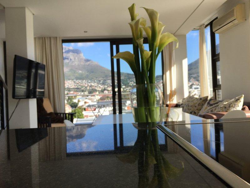 Oh vistas wonderul del apartamento.