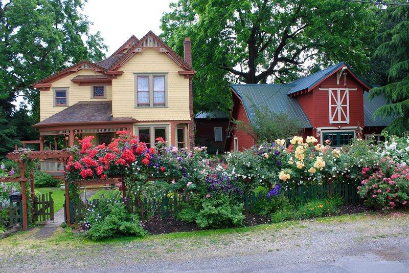 Rural life in an urban setting.