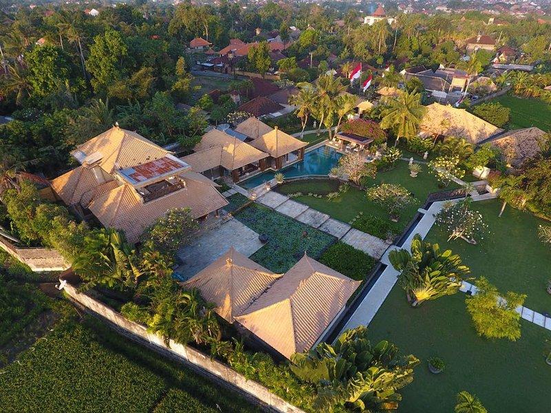 Vista aérea Villa Joan