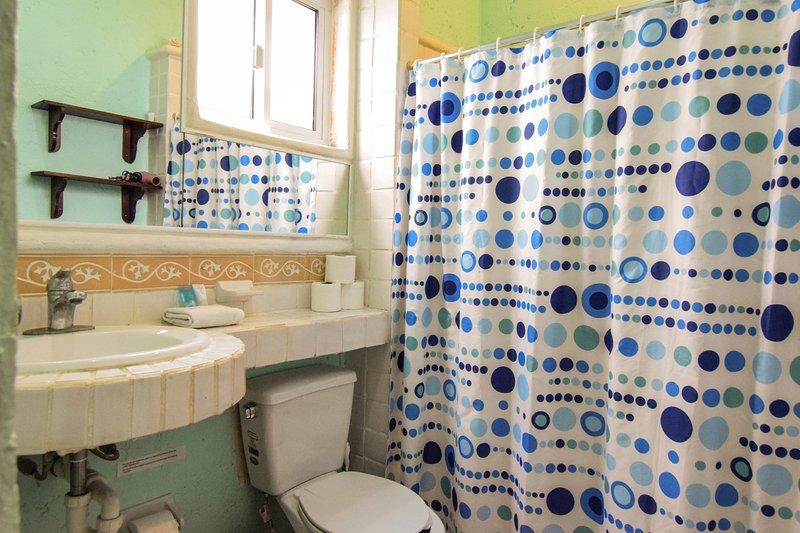 full en suite master bathroom