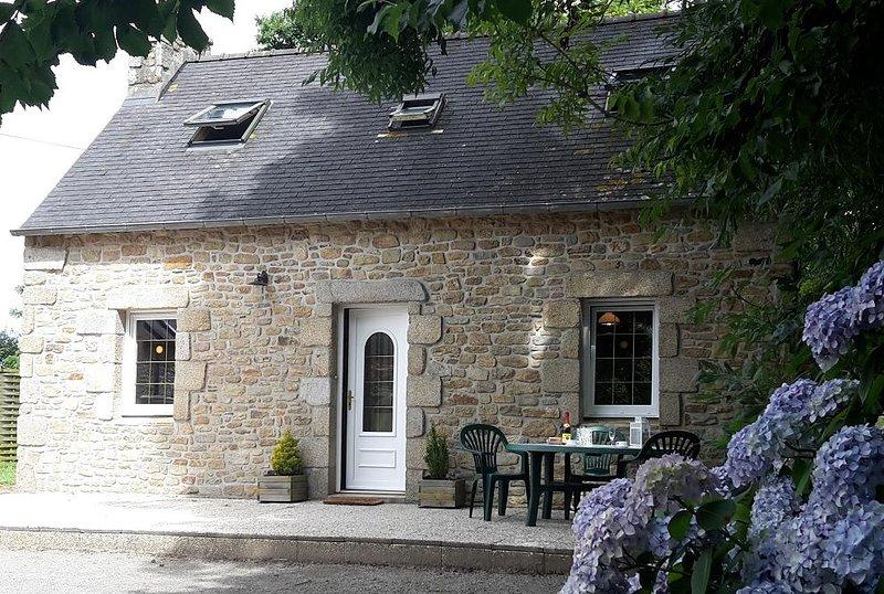 casa de suas férias na Bretanha, Plouguerneau, Localidade Rannenezy (29) para 5 pessoas