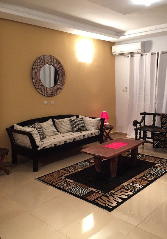 """""""Sanguine"""" Apt 2 rooms on the ground floor in ethnic and chic style"""