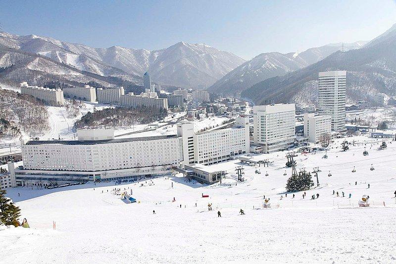 un voyage de ski de snowboard jour de Tokyo en voiture