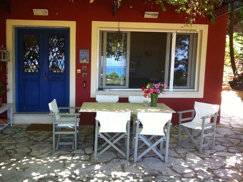 Volpetta vacation house, aluguéis de temporada em Lefkada Town