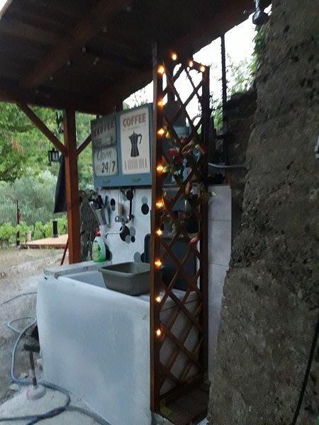 εξωτερική κουζίνα