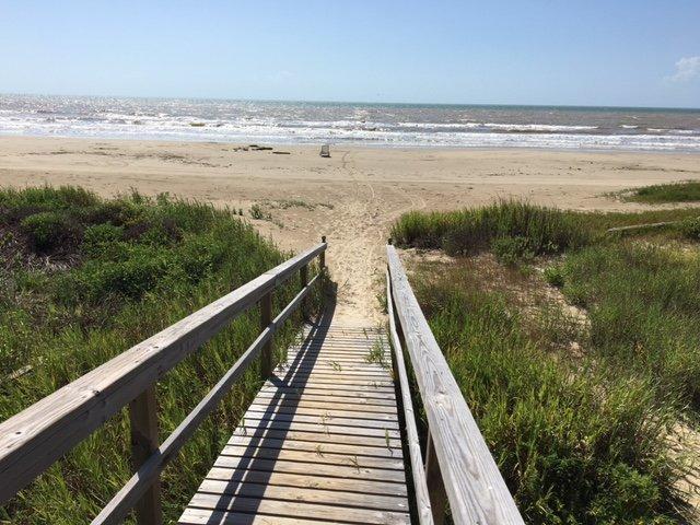 Moins de 100 yards loin des belles plages de sécurité via carte des promenades sur les dunes