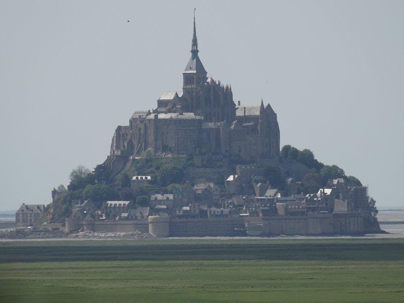 Mont St. Michel - unter 30 Minuten entfernt - nicht entgehen lassen !!