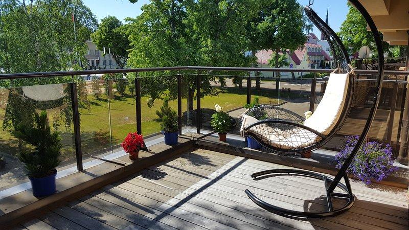 Apartment 'Gopalanga' in town centre of Palanga – semesterbostad i Litauen