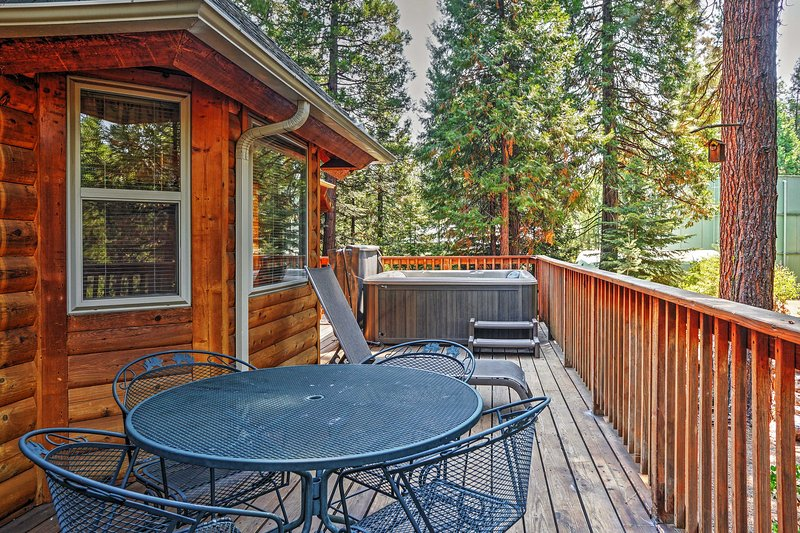 Welcome to this cozy Shaver Lake vacation rental cabin.