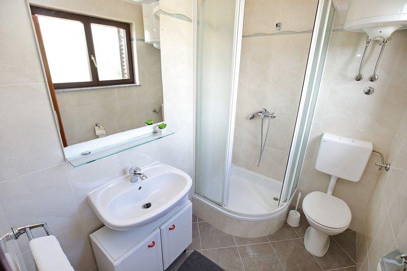 SA1(2): bathroom with toilet