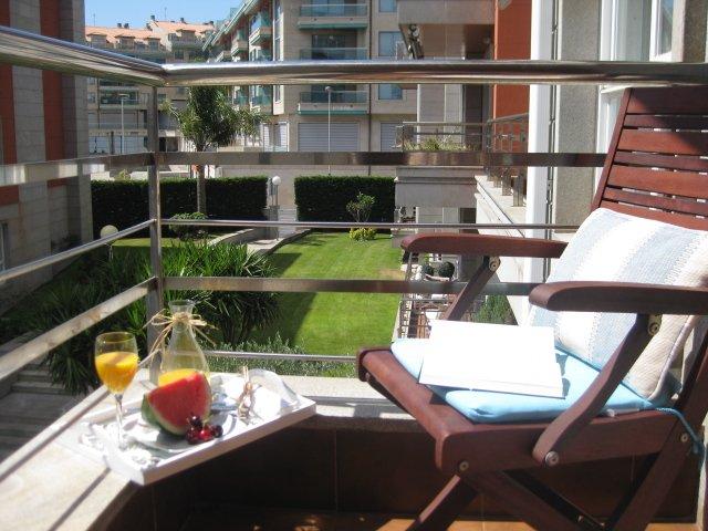Exclusivo apartamento en el centro de Sanxenxo, aluguéis de temporada em Sanxenxo
