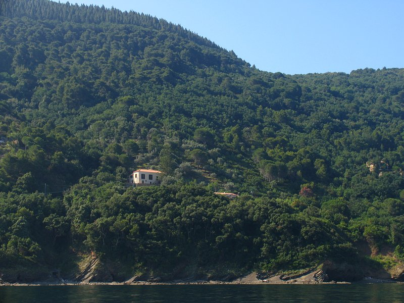 Seen from the sea
