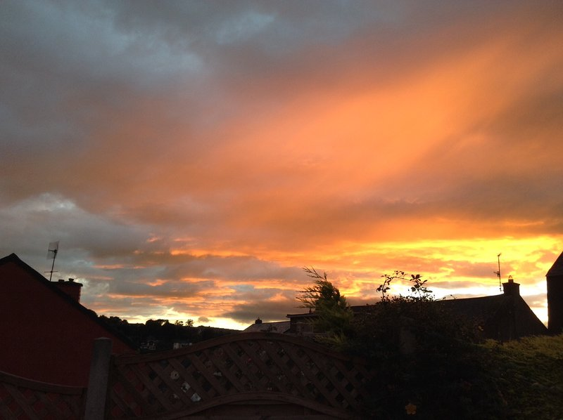 Puesta de sol en Kinsale