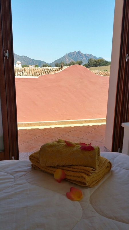 Dormir quarto com piso duplo cama 1std - vista na varanda
