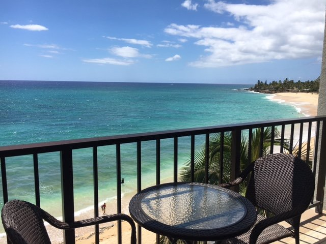 Enjoy your beverage of choice while soaking in this amazing view!