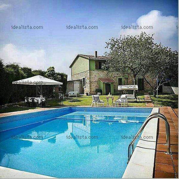 Main house and pool