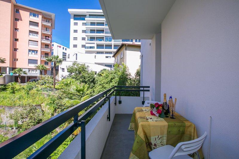 Eigen balkon op de tweede verdieping