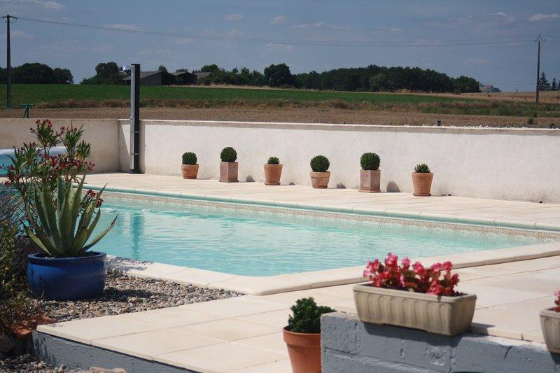 Bouyé  - Poolside 10 x 5