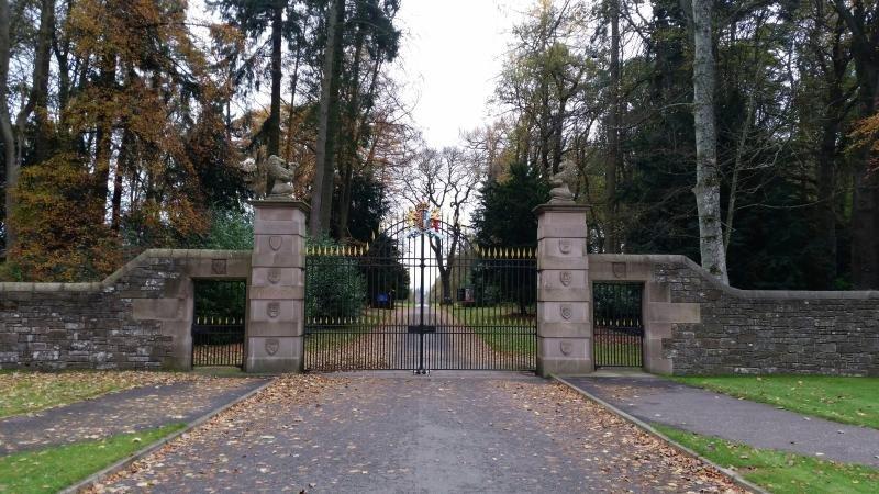 The Gates au château de Glamis