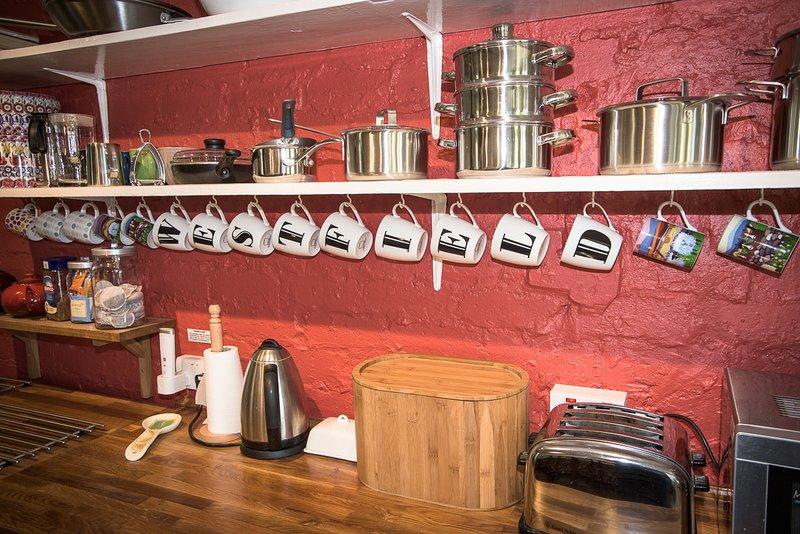 Cocina totalmente equipada, Westfield