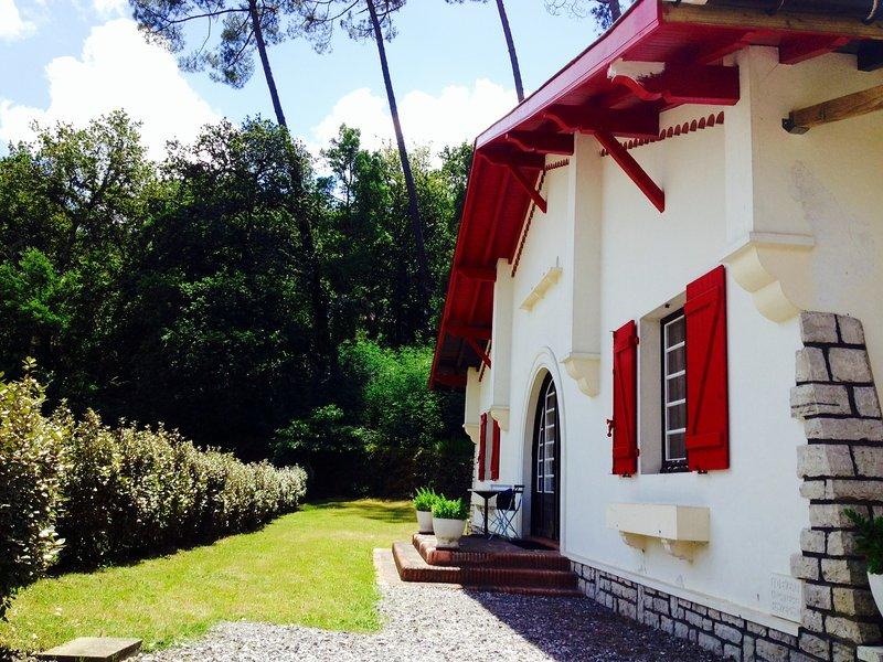 Basco Landaise home 3 min from ocean and marine lake