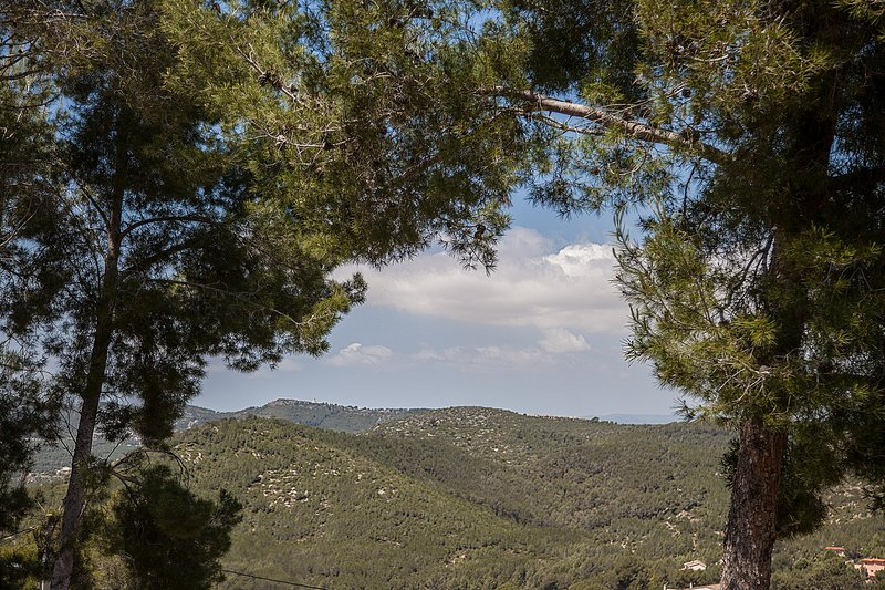 Sitges Villas: Unobstructed view of the valley