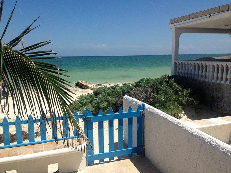Vista del Golfo de México