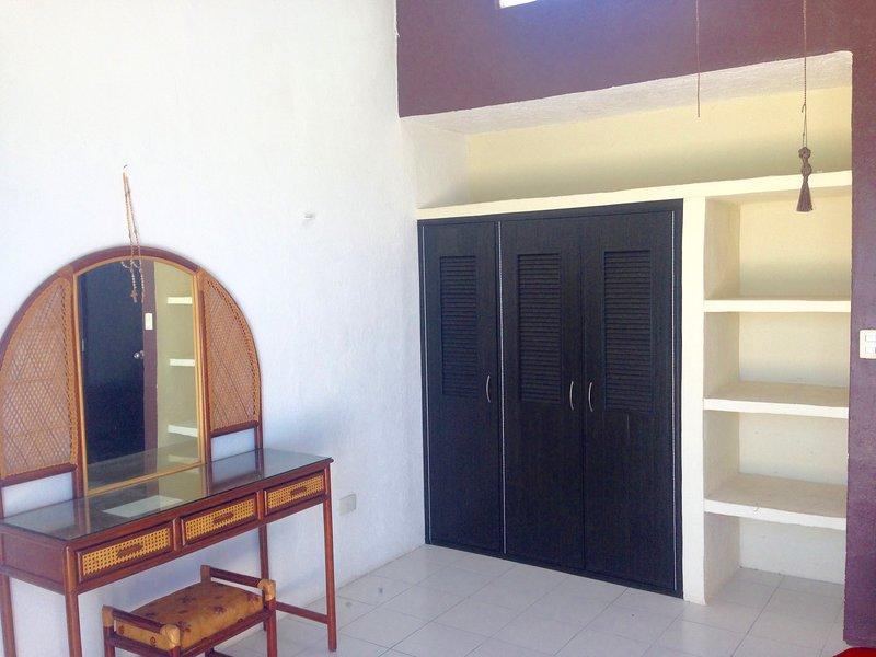 área de armario principal