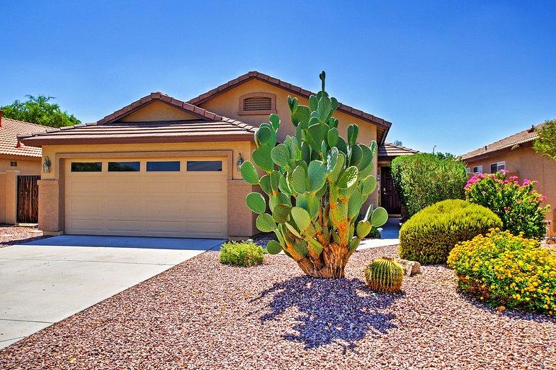 Que cette superbe maison de location de vacances Peoria servent votre base ultime pour explorer la région de Phoenix!