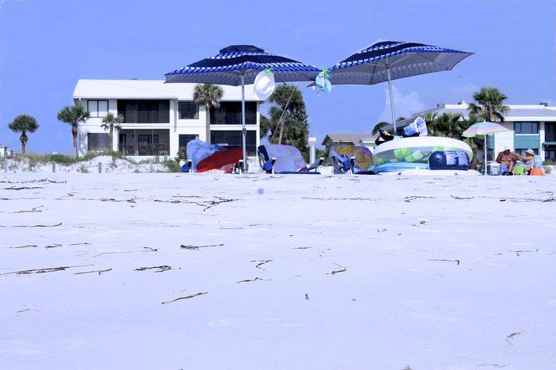 The Beach Sands is the bottom left condo