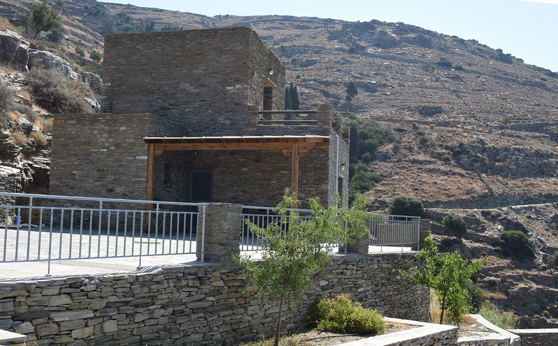 Stone house with sea view- Andros, holiday rental in Andros