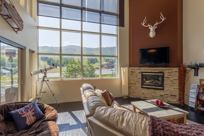 Condo, Lofts 2A, Fireplace, Wifi, Laundry, Balcony, Garage, Cable TV, location de vacances à Parowan