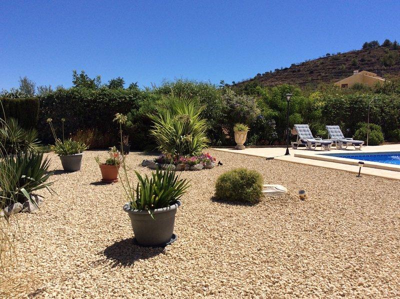 Nuestros jardines con vistas preciosas