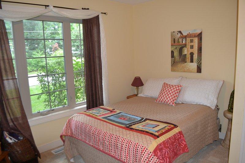 Upper Bedroom Double Bed ~