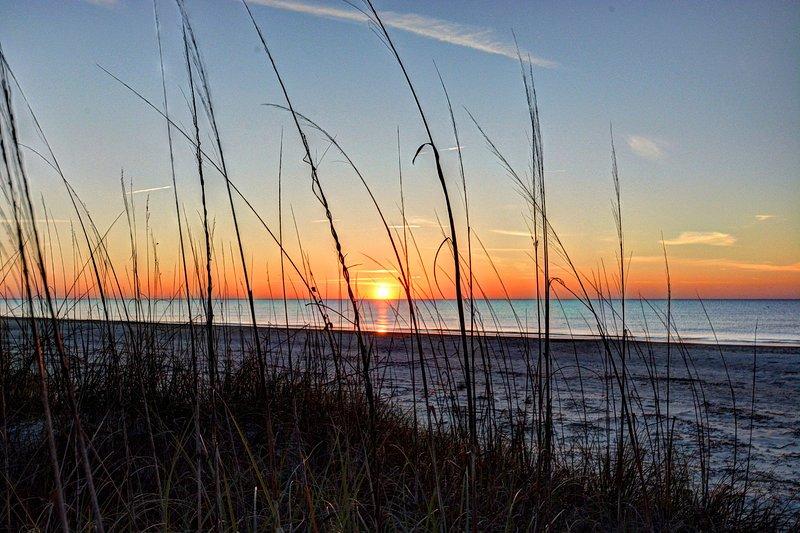 Sunrise on Burkes Beach