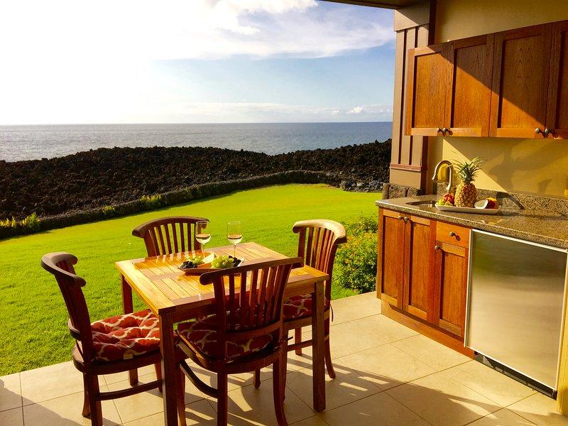 Disfrutar de la vista de su propia terraza privada