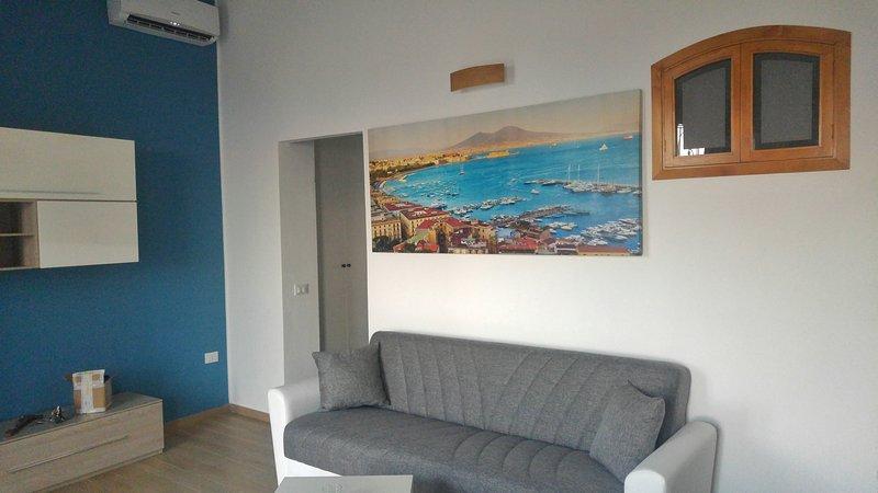 Casa con vista panoramica sul mare, vacation rental in Santa Flavia