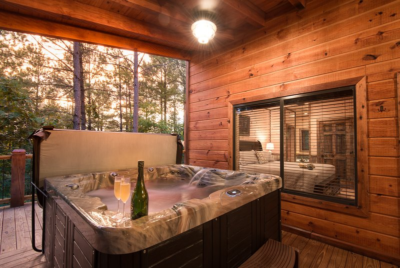 Crystal Ridge Spa Cabin Sleeps 6 Pool Table Updated