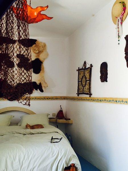 Detail bedroom sea