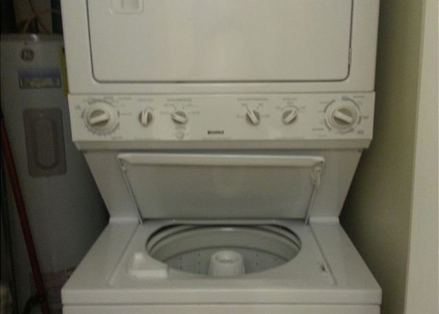 tacked washer/dryer
